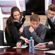 Business working in conference room — Stock Photo #26323655