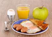 Classical breakfast — Stock Photo
