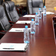 Interior of empty conference room — Foto de Stock