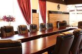 内部的空会议室 — 图库照片