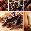 Coffee and chocolate collection — Stock Photo