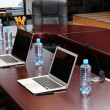 Meeting room in office center — Stock Photo
