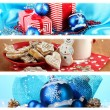 Christmas Holiday Collage — Stock Photo #27316399