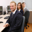 Business at work place — Stock Photo