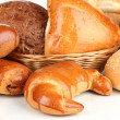 Variety of bread close up — Stock Photo