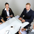 Group of business having meeting together — Stock Photo