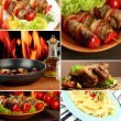 Food collage — Stok Fotoğraf #27536695