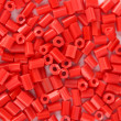 Red beads close-up — Stock Photo