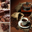 Coffee collage — Stock Photo #27731709