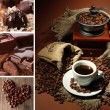 kaffee collage — Stockfoto #27731709