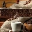 Coffee collage — Stock Photo #27731771