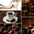 Coffee collage — Foto de stock #27731777