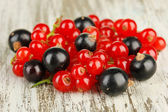 Currants on table close-up — Stock Photo
