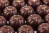 Chocolate candies, close up — Stock Photo