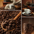 Coffee collage — Foto de stock #27961455