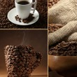 Coffee collage — Stock Photo #27961479