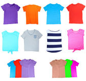 Collage of T-shirt — Foto Stock