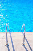 Bazén se schody — Stock fotografie