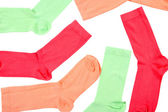 Colorful socks close up — Stock Photo