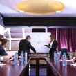 Business training at office — Stock Photo