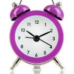 Retro alarm clock, isolated on white — Stock Photo #28599977
