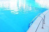 Hotel swimming pool — Stock Photo