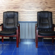 Stock Photo: Lounge chair waiting in hall