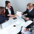 Group of business people having meeting together — Stock Photo #28651401