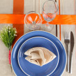Table setting festive table — Stock Photo #28911339