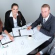 Group of business people having meeting together — Stock Photo #28918113