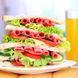 Huge sandwich — Stock Photo #29306695