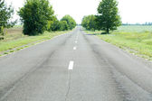 Asphalt road — Fotografia Stock