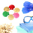 Stock Photo: Things for summer holiday