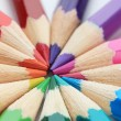 Colour pencils, close up — Stockfoto