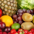 Different fruits close-up — Stock Photo