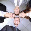 Business team working together in office close up — Stock Photo #29860885