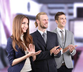 Business partners at office — Stockfoto
