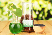 Conceptual photo of bio fuel. — Stock Photo
