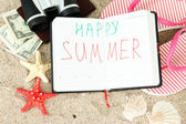 Conceptual image of summer holidays. — Stock Photo