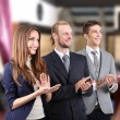 Business partners at office — Stock Photo #30232077