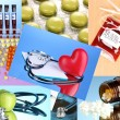 Stock Photo: Collage of medical images
