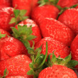 Stock Photo: Fresh strawberry close up