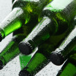 Stock Photo: Bottles of beer, close up