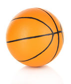 Basket ball, isolated on white — Stock Photo