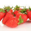 Fresh strawberry isolated on white — Stock Photo