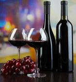 Restoranda tatmak şarap — Stok fotoğraf
