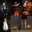 Collage of Halloween — Stock Photo #31012425