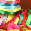 Stock Photo: Bright ribbons close-up