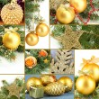 Collage of Christmas decorations — Stock Photo #31143925