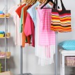 Stock Photo: Women wardrobe